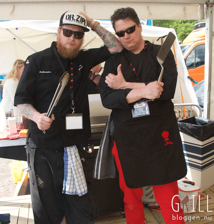grill och bbq vm 2015 Jimmy Jazz Hemmingsson Peter watz