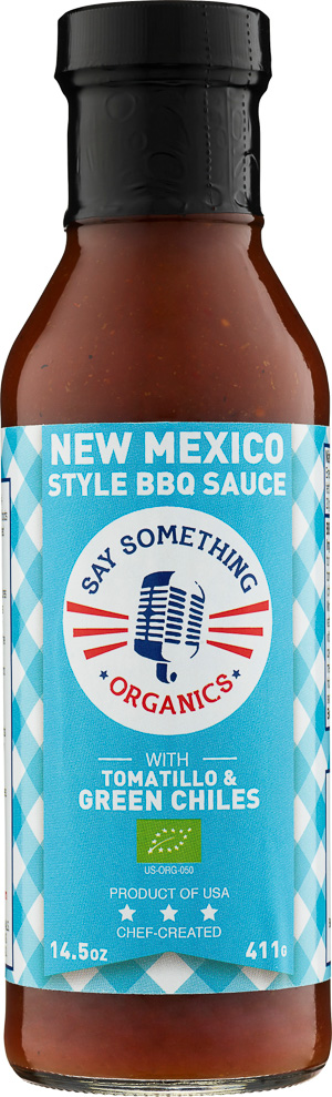 Say Something New Mexico Style BBQ Sauce