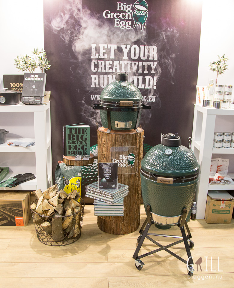 Formex 2017, big green egg, keramisk grill