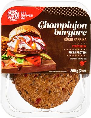 vegetariska hamburgare ica