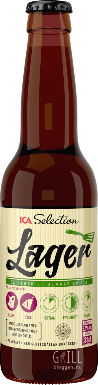 ICA Selection Lager grill
