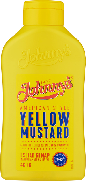 Johnnys Yellow Mustard flaska 300