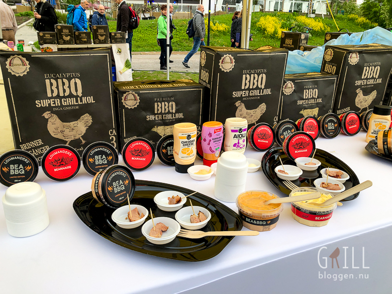 grillmassan 2019 IMG 9057 Nyheter hos City Gross luxia grillkol, lohmanders bea bbq
