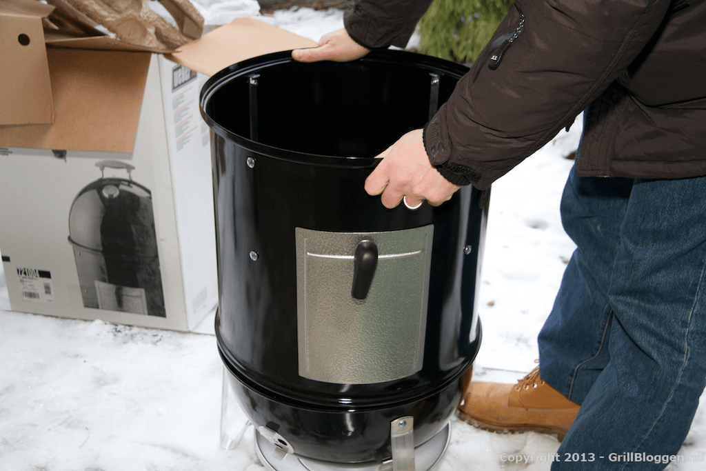 WSM Weber Smokey Mountain Cooker montering 22