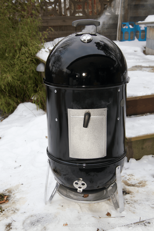 WSM Weber Smokey Mountain Cooker montering 33