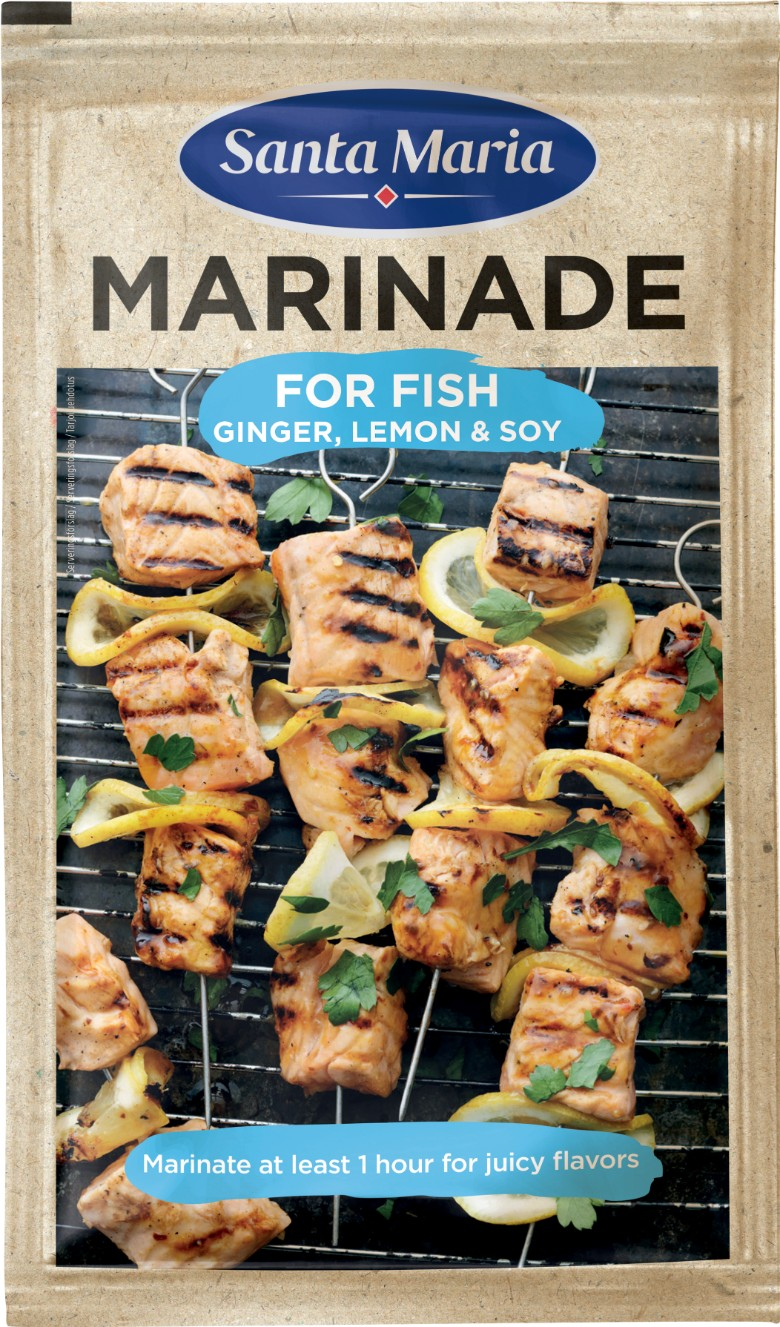 SantaMaria BBQ Marinade Fish 780