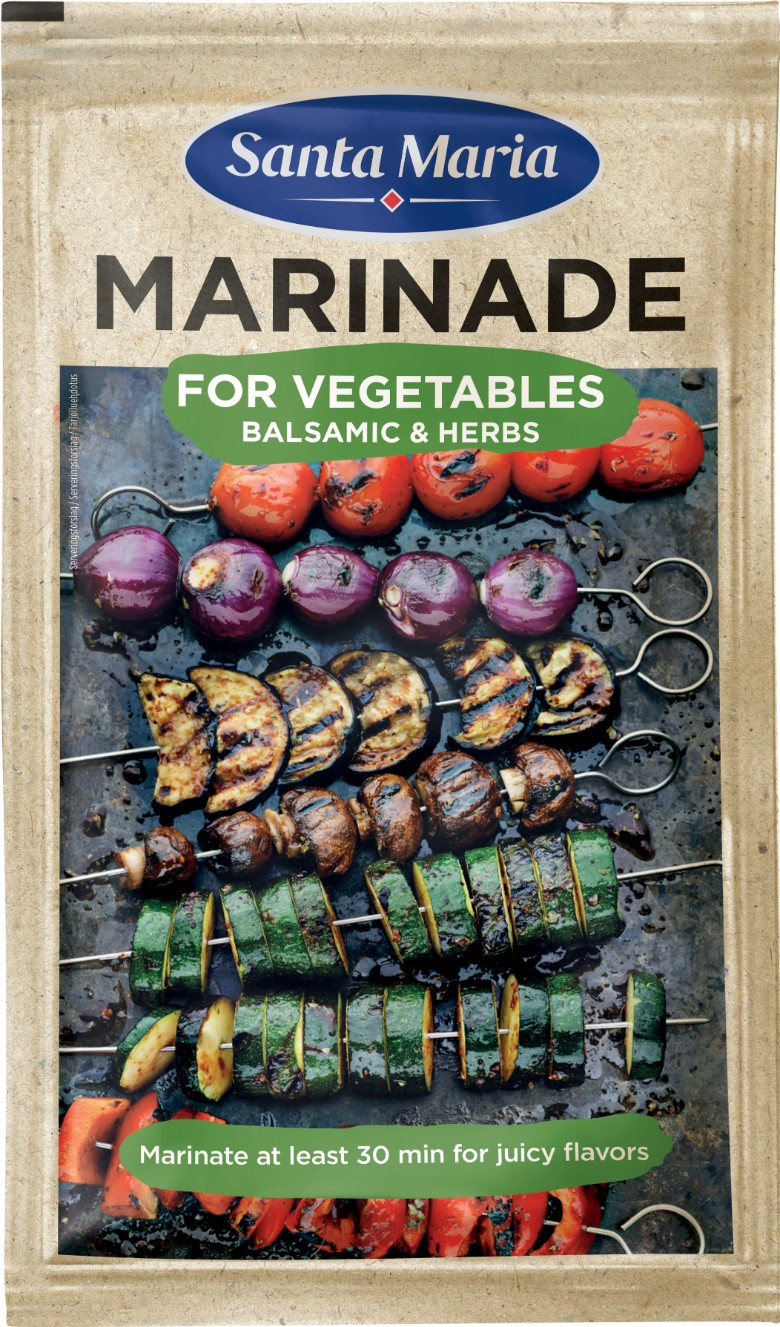 SantaMaria BBQ Marinade Vegetable 780
