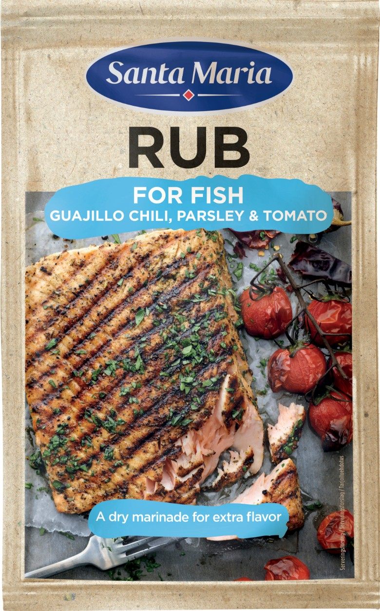 SantaMaria BBQ Rub Fish 780